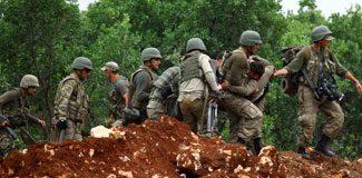 Lice'de gerginlik: 1 asker yaralı