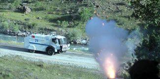 PKK'nın yol kontrolüne müdahale