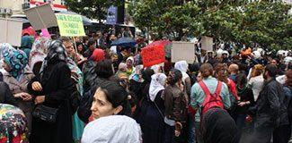 Şişli'de Öcalan gerginliği