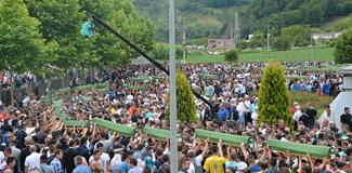 Srebrenitsa'da 175 kişi toprağa verild