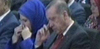 Emine Erdoğan da ağladı
