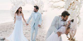 Beren Kenan düğününden ilk kareler