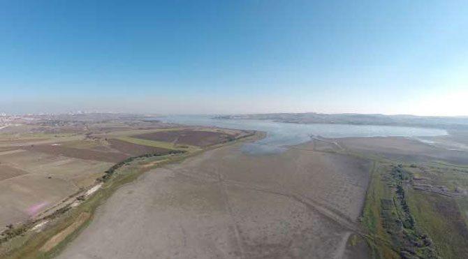 Papuçdere barajından görüntüler