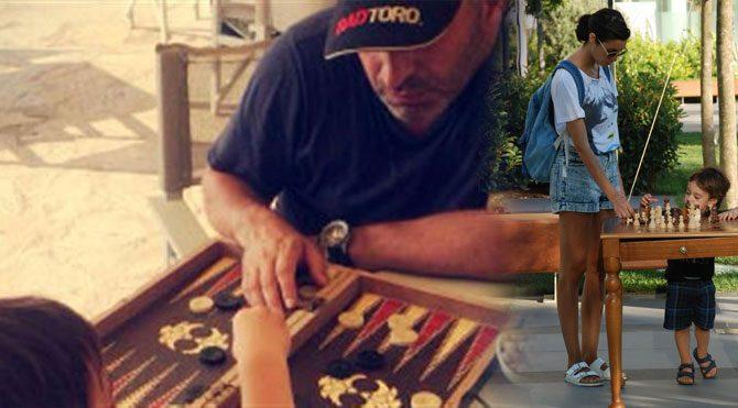 Babayla tavla anneyle satranç