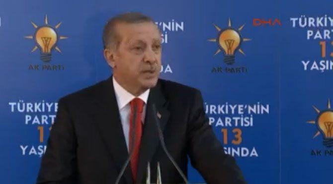 Erdoğan: 'Feyzioğlu konuşursa gelmem'