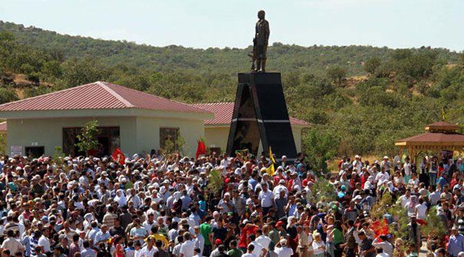 Mahsum Korkmaz heykeli için yıkım kararı