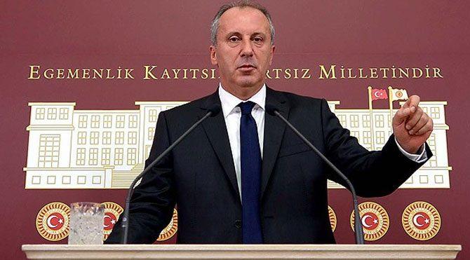 Muharrem İnce CHP Genel Başkanlığı'na adaylığını açıkladı!