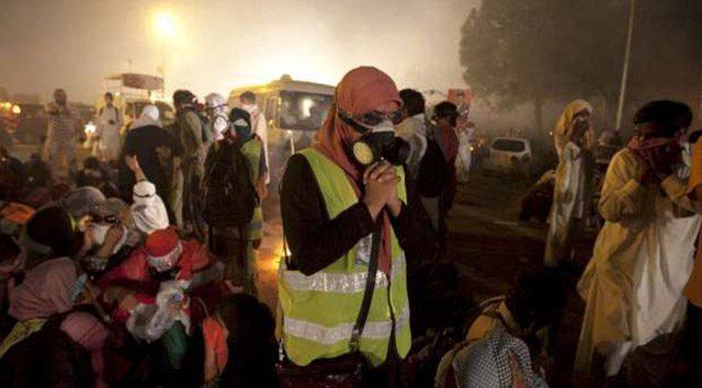 Pakistan'da hükümet karşıtı gösteriler sürüyor