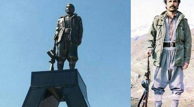 Heykeli dikilen PKK'lı terörist askerimizi böyle şehit etti!