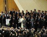 Papa, F.Bahçe ve G.Saraylı futbolcuları kabul etti
