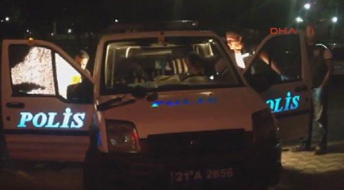 Diyarbakır'da polise silahlı saldırı