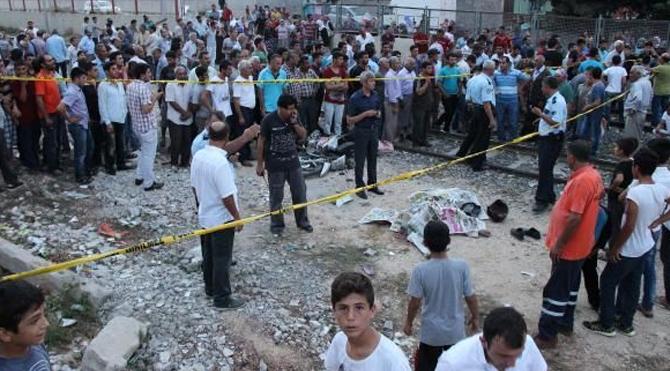 Kaza sonrası silahlar patladı
