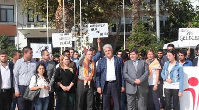 CHP'li gençler RES'lere karşı yürüdü