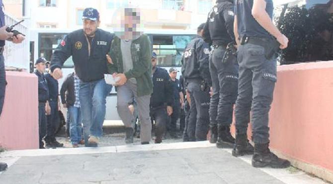 Eylem hazırlığında 7 kişi yakalandı