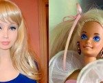 Barbie bebek değil, gerçek!