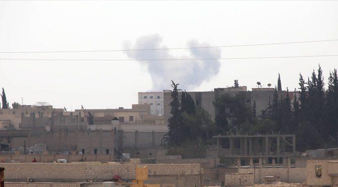 ABD IŞİD'i Kobani yakınında vurdu