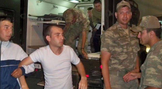150 asker hastanelik oldu!