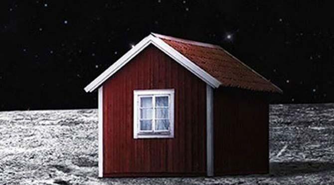 Ay üzerindeki bu evi siz de alabilirsiniz!