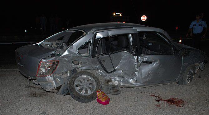 Burdur'da trafik kazası: 3 ölü