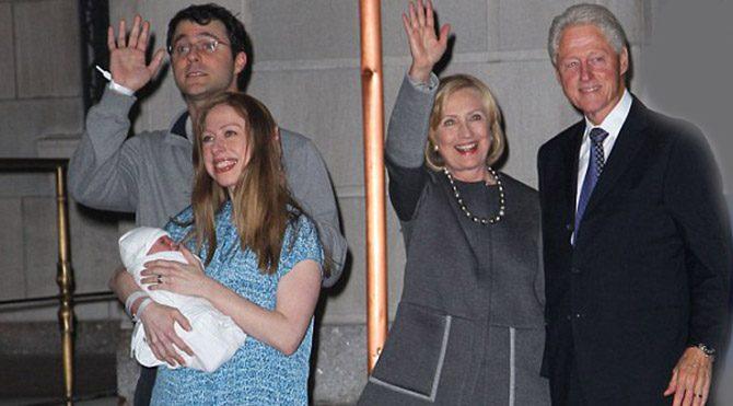 Clinton bebeğin ilk fotoğrafı yayınlandı