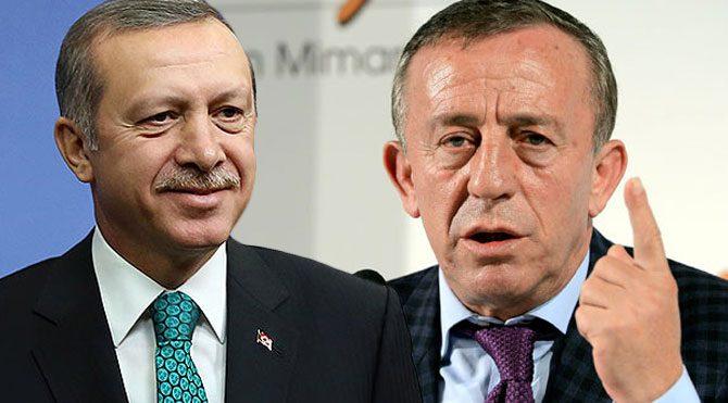 Ali Ağaoğlu emri Erdoğan'dan aldı