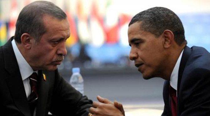Erdoğan Obama ile Suriye'yi görüştü