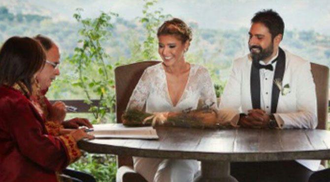 Gülben Ergen evlendi!