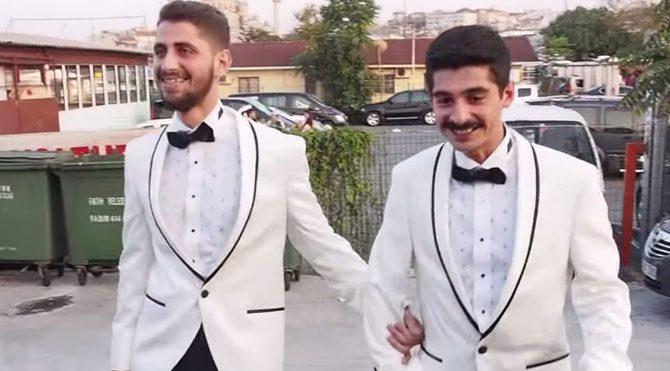 İstanbul'da bir eşcinsel düğünü