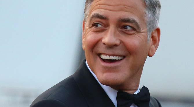 George Clooney evlendi