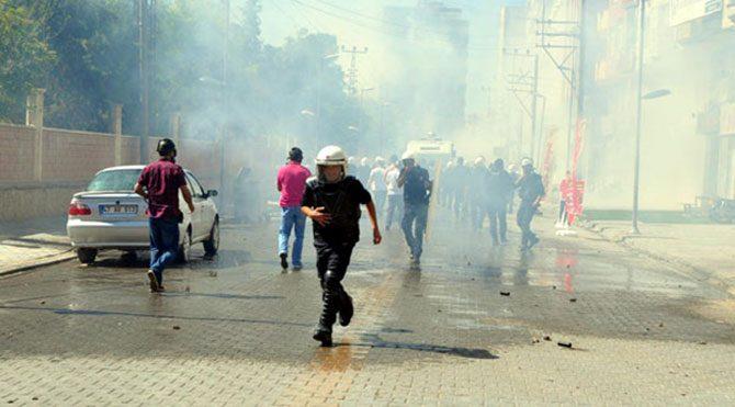 Mardin'de olaylı IŞİD protestosu