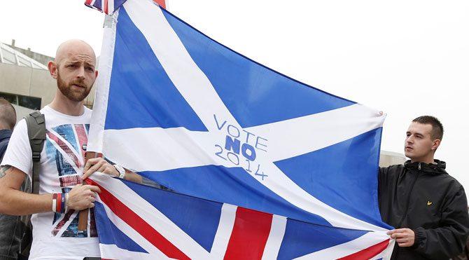 İskoçya bağımsızlığa 'hayır' dedi!