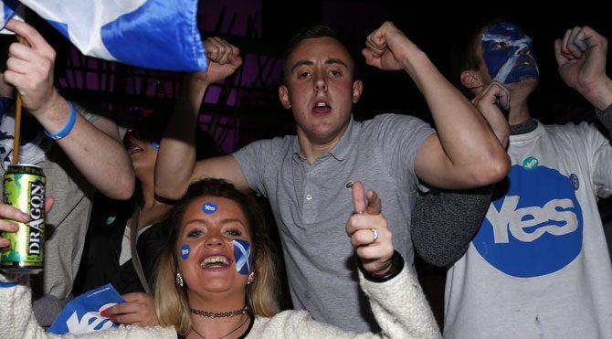 İskoçya referandumu sosyal medyayı salladı!