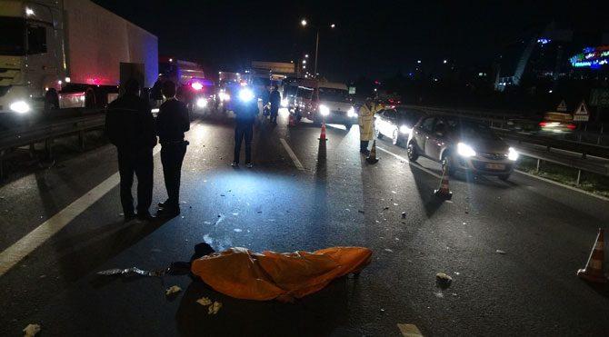 Basın Ekspres Yolu'nda ölümlü kaza
