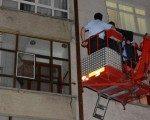 Konya'da yaşlı adamı itfaiye kurtardı