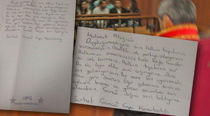 PKK mahkemesini mahkemeye şikayet ettiler