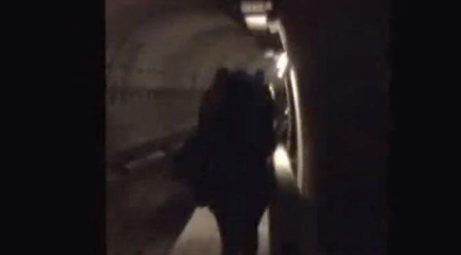 Yolcular tünellerde!