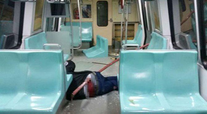 Bir daha metroya binmem!