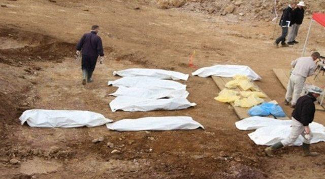 Musul'da 500 kişilik toplu mezar bulundu