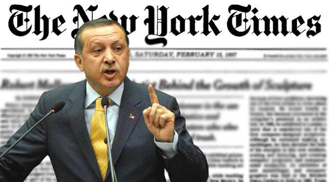 NYT'tan Erdoğan'a yanıt