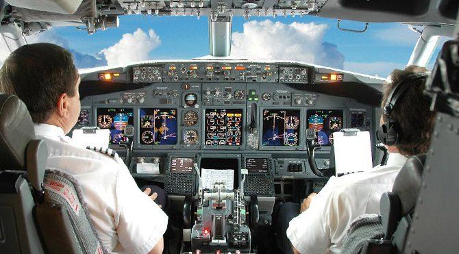 Pilotlara 'porno' uyarısı