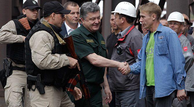Ukrayna liderinden anlamlı ziyaret