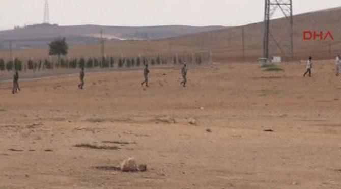 Sınırda IŞİD paniği
