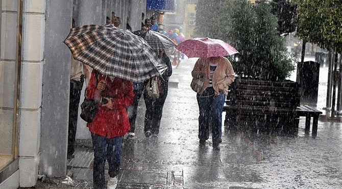 Meteroloji'den İstanbul için yağmur uyarısı!
