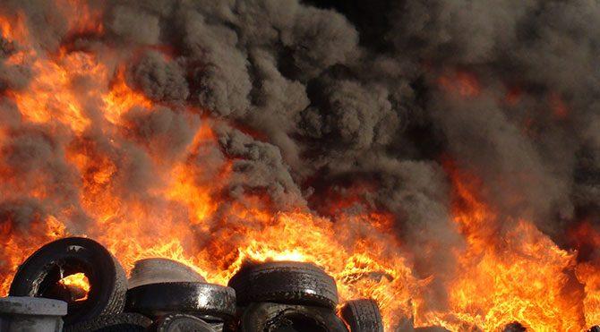 Aksaray OSB'de yangın
