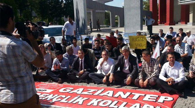 CHP'den TÜRGEV protestosu