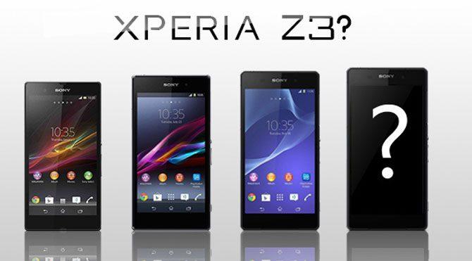 Xperia Z3 geliyor