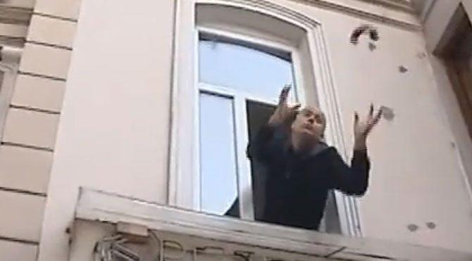 Zabıta apartmanı üzerine mühürledi