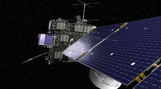 Rosetta uzay aracı görevde