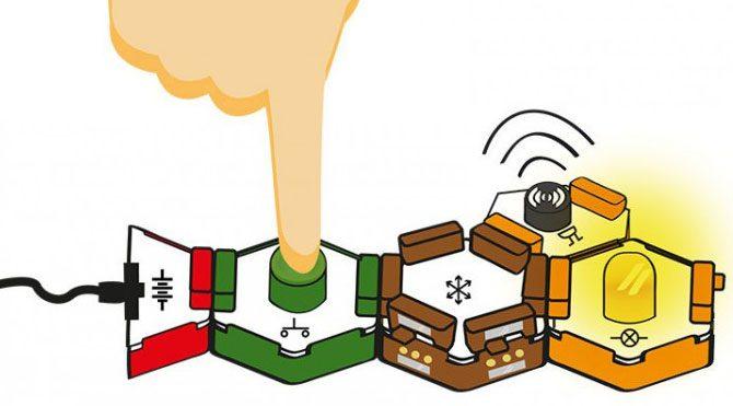 Çocuklar için elektronik yapboz