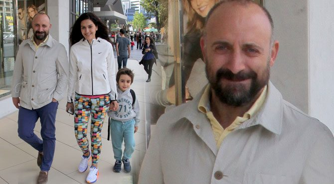Halit Ergenç'ten aile şipşakları
